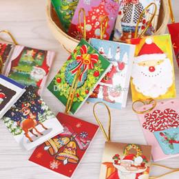 2019 weihnachtskisten ornamente großhandel Weihnachtsschmuck Karten gedruckt Xmas Ornament Wunschkarte Sweet Wish Lovely für Weihnachtsbaum Dekoration Freunde Geschenkkarten