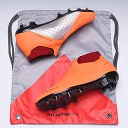 2019 sportelli sportivi Stivaletti da uomo Mens High Ankle da calcio EA Sports phantom VSN Elite DF FG Scarpe da calcio X JD PSG Phantom Vision FG Outdoor Soccer Cleats sconti sportelli sportivi