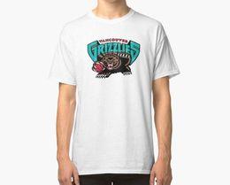 shirt grizzly Sconti New Vancouver Grizzlies Logo T-shirt da uomo Taglia S-3XL Taglia Scoperta Maglietta nuova calda Camicie di marca Jeans Stampa Ritorno al futuro Maglietta anime
