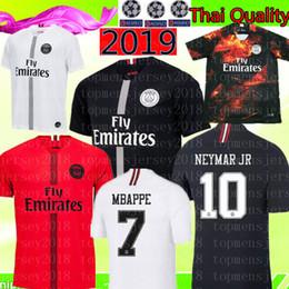 55af6ca64f32b6 2018 2019 PSG MBAPPE   7 Cavani   9 Mbappe   29 camiseta de fútbol Tailandia    10 DI MARIA 11 Verratti 6 camiseta de fútbol Paris Saint Germain