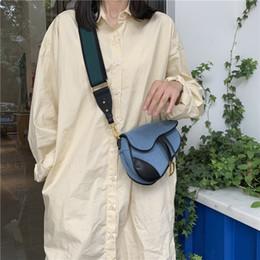 cinto saco mulheres coreano moda Desconto Denim Patchwork pequeno pe Bolsas Jeans Moda Mulheres Belt Bolsas 2019 New Hot Lady Bolsas coreano