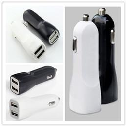 Wholesale Mini Car USB Ladegerät Schnellladung Handy Ladegerät Dual Port USB Autoladegerät für iPhone Samsung Tablet Auto Ladegerät Fabrik billig