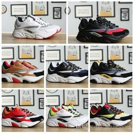 Nova Alta Qualidade B22 Lona E Calfskin Formadores Dos Homens Tênis de  Corrida Moda Feminina Tênis Francês Marca Designer Casual Sapatos 3SN231Y  marcas de ... 48f861db79e37