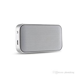 Canada Portable Sans fil Bluetooth Haut-parleur Mini Métal Format poche Format sonore Boîte de son mains libres Basse extérieure Subwoofer pour téléphone Offre
