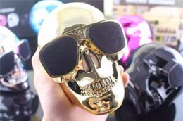fantôme usb Promotion Haut-parleur Bluetooth Haut-parleur intelligent Haut-parleur fantôme tête de mort