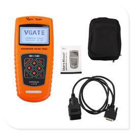 2019 mestre de línguas Vgate da ferramenta VS100 da varredura de Vgate OBDII / EOBD auto diagnóstico do Multi-Brand com frete grátis