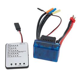 Programas de tarjetas online-SURPASS HOBBY S-120A ESC sin escobillas con 6.1V / 3A SBEC Programming Card para 1/8 RC Car