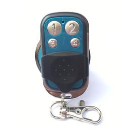 Garagentor fernbedienung kopie code online-Portable Wireless 4333,92 Mhz Fernbedienung Copy Code Remote 4 Kanal Elektrische Klontor Garagentor Auto Keychain