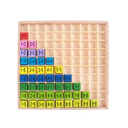 mathématiques jouet suzakoo compter jeu jeu enfants multiplication maths jouets jeu étudiant apprentissage précoce outil en bois jouant ? partir de fabricateur