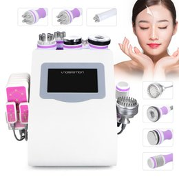 rf lifting equipment Promo Codes - Cavitation Liposuction Slimming Equipment Lipo Laser Machine Body RF Vacuum Cellulite Remover Machine Cooling Probe LED Lamp Bio Skin Lift