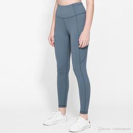 LU-5 Kadın yoga pantolonları yoga tozluk Bayanlar Spor Egzersiz Fitnes kızlar tam tozluk spor giysiler kadın çalışan Wear nereden
