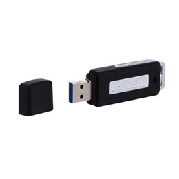 portachiavi del registratore vocale Sconti Nuovi registratori vocali digitali o driver USB per PC Registratore vocale digitale audio U Flash Disk Dittafono portatile