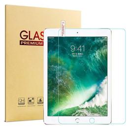 Protectores de pantalla de vidrio templado de 0,3 mm para Ipad Pro 12.9 pulgadas Air 2 3 10.5 2019Mini 2 4 5 con paquete desde fabricantes