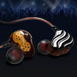 2019 pilote de câble 1 paire écouteurs Dual Drivers Sports Ear Hook Ecouteurs intra-auriculaires filaires YE-Hot promotion pilote de câble