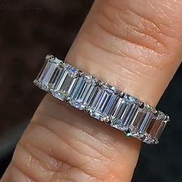 Choucong Charm Promise anillo de dedo de plata esterlina 925 corte de diamante anillos de la banda de compromiso para las mujeres de los hombres joyería de la boda desde fabricantes