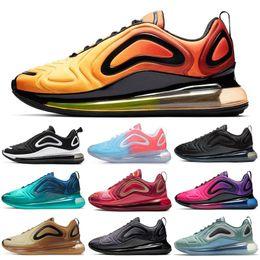 Nike Air Max 720 Shoes Laufschuhe für Herren Damen Total Eclipse Volt Neon Pink Rise Sea Forest GIMNASIO ROJO DESERT GOLD Herren Turnschuhe Sport