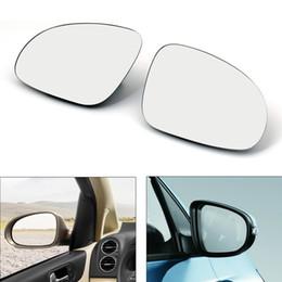 2019 vw cc fibre de carbone Porte Areyourshop Miroir LeftRight verre chauffant W / Support pour VW Golf GTI Pour Jetta MK5 pour Passat B6 Rearview Miroir en verre