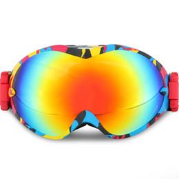Альпинистские очки онлайн-Очки для снегохода двойной объектив открытый альпинизм лыжные очки ветрозащитный Сноуборд очки лыжная маска зимние лыжные очки