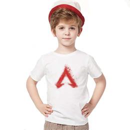 t-shirts blancs pour enfants Promotion Apex Legends T shirts 2019 Nouveau Logo Logo Modal Crew Neck Enfants Casual Manches Courtes T-shirts Enfants 19 Styles Blanc Tops Tees En Gros