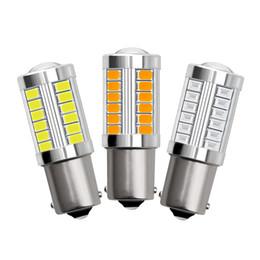 2x 7443 5630 LED 33SMD Standlicht Rücklicht Rückfahrlicht Lampe Birne Weiß AF