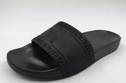 2019 Hommes Casual Air Plage Slide Sandales Medusa Poignets Pantoufles Mode Classique Europe Marque Slip-on Sandals Randonnée Chaussures De Marche 38-46 ? partir de fabricateur