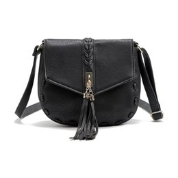 4c271702f4 Vintage Tassel Shoulder Bag ladies pu leather tassel messenger handbag  crossbody bags new model for lady female bags