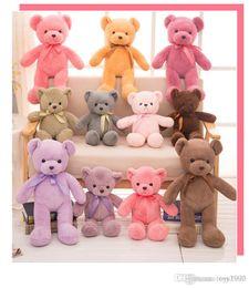 2019 ursinhos de pelúcia recheados Teddy Bears Bebê Brinquedos De Pelúcia Presentes 30 cm Bichos De Pelúcia Macia Urso De Pelúcia Bonecas De Pelúcia Crianças Pequenas Ursos De Pelúcia crianças brinquedos ursinhos de pelúcia recheados barato