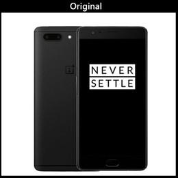 telefones celulares india Desconto Um mais 5 Oneplus 5 A5000 4G LTE Telefone Celular Snapdragon 835 Android 7.0 5.5