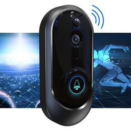 visión nocturna de la cámara pir Rebajas Nueva 1080P Timbre de video inteligente Baterías inalámbricas para cámaras de seguridad para el hogar Cámara bidireccional de visión nocturna con detección PIR de calidad superior