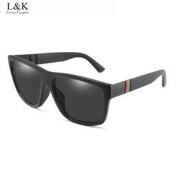 Sonnenbrille für tag nacht online-Long Keeper 2019 Polarisierte Sonnenbrille Männer Frauen Sonnenbrille PC Rahmen Licht Brillen Eyewear UV400 Tag Nachtsicht Mode