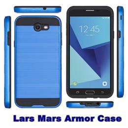 casos de sublimação lg Desconto Protetor híbrido À Prova de Choque Macio Armadura Dura MARS Phone Case para LG Optimus Zona 3 K4 / Spree VS425 Detalhe Pacote 30 PCS Cada Cor Pelo Menos