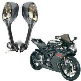 Turn Signal Rear View Mirrors For Suzuki GSXR600//GSXR750//GSXR1000 2007 2008 UK