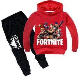 c59c2035b0db7 2019 pantalones de niños grandes Fortnite chándal para niño adolescente  conjunto de ropa Fornite Big Boy