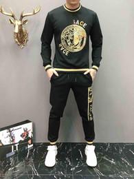 2019 camisa nova das calças do projeto New Inverno Treino Homens suor de luxo Ternos Outono Marca Mens Jogger Suits Jacket Pants Sets Sporting mulheres terno Hip Hop Define M-3XL