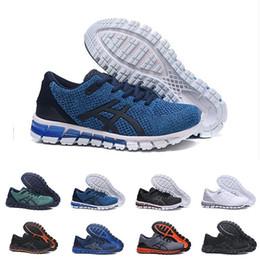 scarpe da corsa di mens migliori Sconti Asics economiciGel-Quantum 360 II disegno Nero Bianco Grigio Mens Cuscino pattini correnti del mens 2s originali Migliori qualità atletici delle scarpe da tennis 40-45