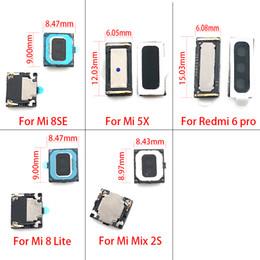 2019 orelha, orador, flex 10pcs / lot, New Fone de ouvido Speaker Flex Cable Para Mi A1 5X / 8SE / MIX 2S Mi8 Lite redmi 6 Pro parte substituição A2 Li desconto orelha, orador, flex