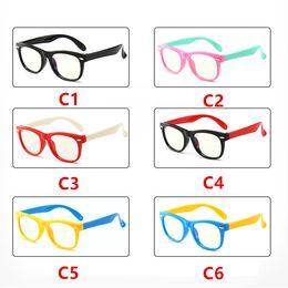 5e3e52e4887a 2018 New Baby Anti-blue Light Silicone Glasses Children's Frame Glasses  Goggles Plain Soft Children Eye Fame Eywear Fashion