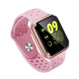 2019 medidor de ips S226 Reloj inteligente Bluetooth 4.0 Monitor de ritmo cardíaco Reloj inteligente para iphone samsung huawei ios teléfono Android PK GT88 DZ09 KW18