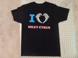 OFWGKTA I Cuore Miley Cyrus T-SHIRT Mens Nero EUC Delfino Amore Odd Future Uomini Donne Unisex Moda tshirt Spedizione Gratuita cheap miley cyrus da miley cyrus fornitori