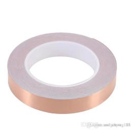 Односторонняя лента из медной фольги для защиты от статических помех Беспроводное усиление сигнала 0,06 мм от