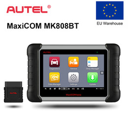 Lançamento x431 programador on-line-Autel MK808BT OBD2 Scanner Auto Ferramenta de Diagnóstico OBD 2 Automotive Code Reader ODB2 Diagnóstico Programador Chave Melhor Para Lançar X431