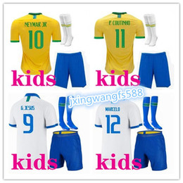 2019 amerika fußball jersey fußball 2019 Copa America Brasilien Kinder Trikot 19/20 PAULINHO G.JESUS P.COUTINHO D.COSTA WILLIAN Kinder Trikot Fußball günstig amerika fußball jersey fußball