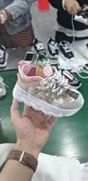 2020 zapatos de tela para niños Versace 2019 nuevos zapatos para niños Niños Niñas tela de algodón de los zapatos de las zapatillas de deporte Entrenar respirables de los zapatos EUR 28-35 rebajas zapatos de tela para niños