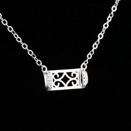 2019 полуприцеп для принцессы Стерлингового серебра 925 женщин ожерелье полу горе кулон Кристалл 7x12MM Принцесса кабошон белого золота цвет DIY камень установка дешево полуприцеп для принцессы