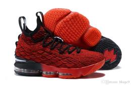 2019 hochwertige neueste Asche Ghost Lebron 15 Basketball Schuhe Ankunft Turnschuhe 15 s Mens Casual 15 KingJames Sportschuhe LBJ EUR 40-46 von Fabrikanten