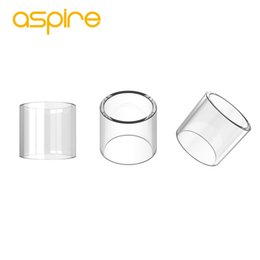 Tanque de pyrex substituível on-line-Aspire Glass Tube para Nautilus 2S Tank 2.6ml para Aspire Nautilus 2S Tank Atomizer substituível Aspire Glass Tube Pyrex Glass