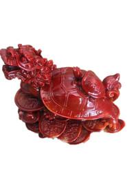 Canada Antiquité Divers Shoushan sculpteur sur pierre pour créer une maison de ville Lucky Fortune Dragon Turtle artisanat cadeau petits ornements Offre