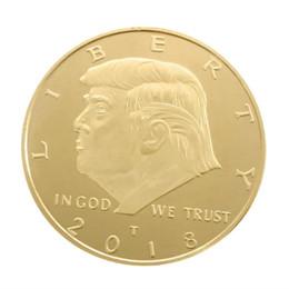 Moneda conmemorativa artesanal conmemorativa de monedas de oro, plata, metal, oro, metal, moneda estadounidense, 2018. Símbolo para colección Recuerdo desde fabricantes