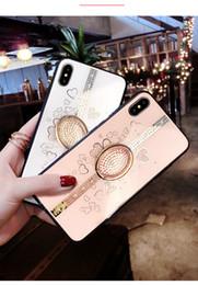 Capas de telefone celular brilhantes on-line-Para iphone xs xr 6 7 8 x diamante brilhante phone case silicone macio telefone shell para mulheres telefone celular case frete grátis