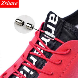 1 Pair Shoelaces Unsiex No Tie Locking Round Elastic Shoelaces Child Sneakers Lock Shoe Laces Fit Strap For Boys And Girls Discounts Sale Shoe Accessories